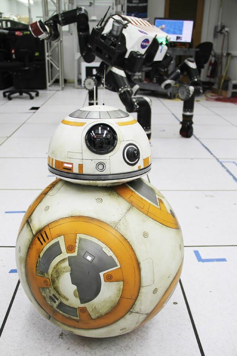 That Time BB-8 Visited the Robots at NASA's Jet Propulsion Lab