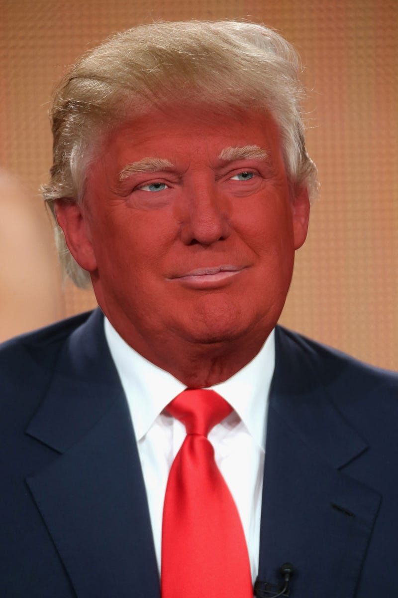 Here Donald Trump Would Look Like Without His