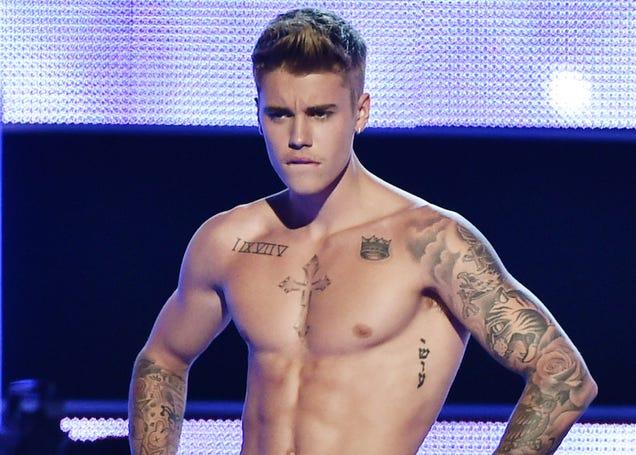 Justin Bieber Calvin