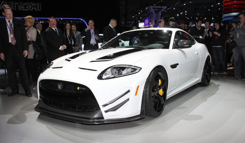 The Jaguar XKR-S GT Has Aerodynamics With Its Aerodynamics