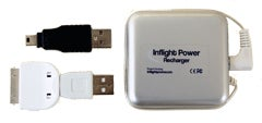 InflightPower's Chargers Turns Airplane Headphone Jacks into iPhone/iPod USB Power