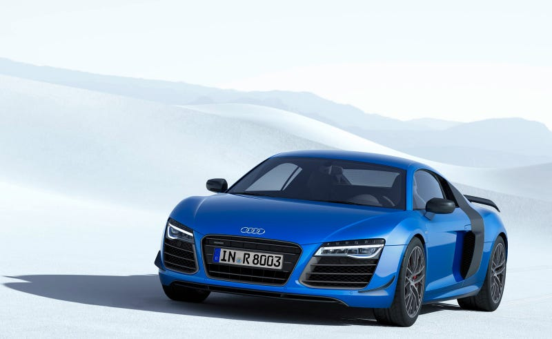Audi R8 LMX To Annihilate Darkness With Laser High Beams