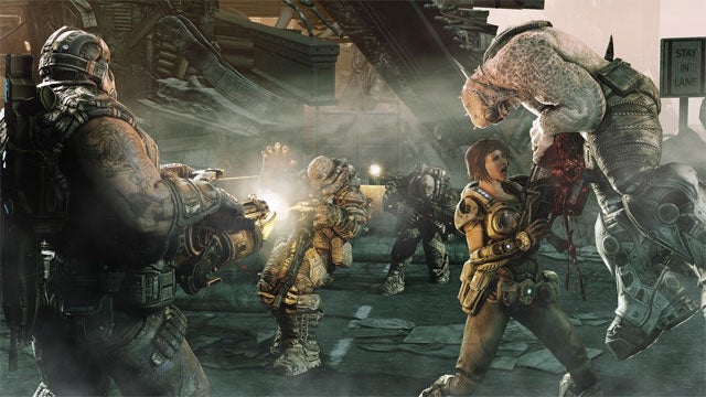 Gears of War 3 Live from Comic-Con