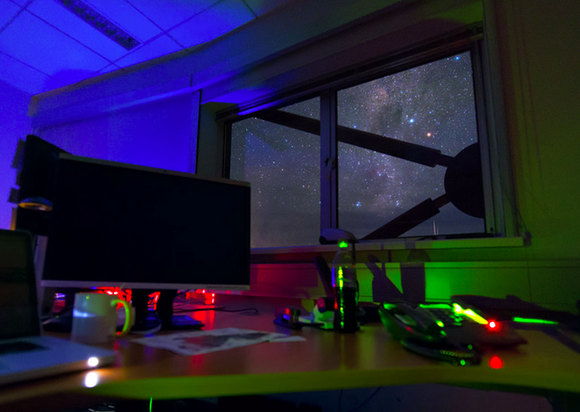 Imagine Your Workstation Had This View of the Galaxy
