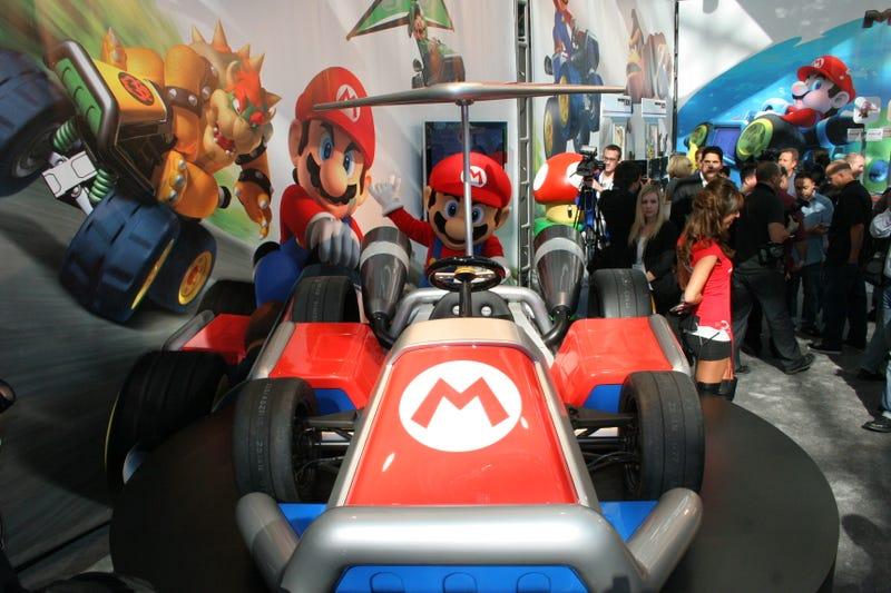 Mario Karts: Live Photos