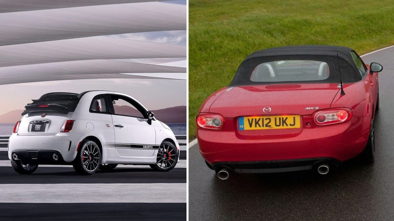 Alfa Romeo's Version Of The 2015 Mazda Miata May Get Abarth Power