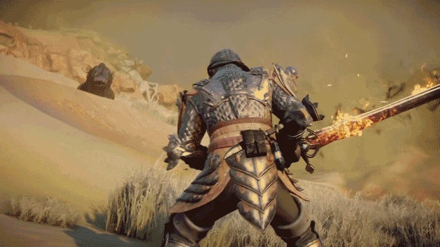 What Fighting A Dragon Looks Like In Dragon Age: Inquisition