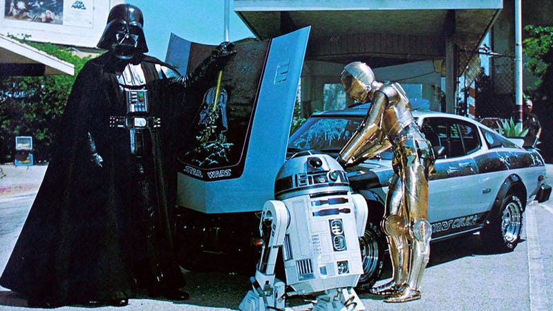 Have you seen this Star Wars Celica George Lucas is looking for?