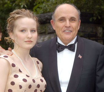 Rudy Giuliani's Daughter Arrested for Shoplifting