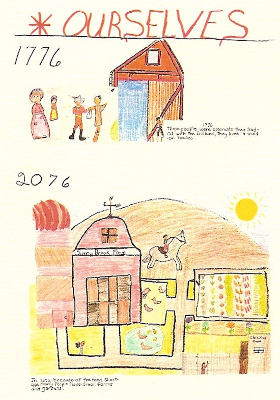 Hilariously bleak visions of the future, as predicted by schoolchildren in 1976