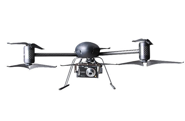 Draganfly X6 UAV: UFO Thingy Packed With Carbon Fiber, HD/Night Cameras and GPS
