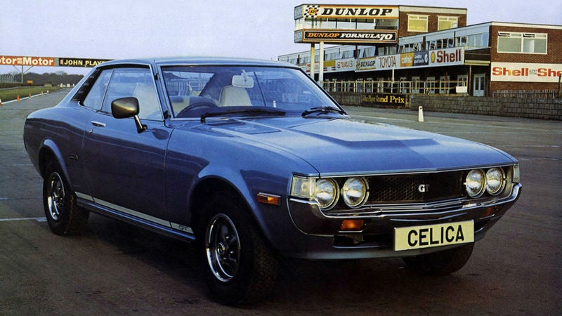 Someone Please Save This 1976 Celica GT