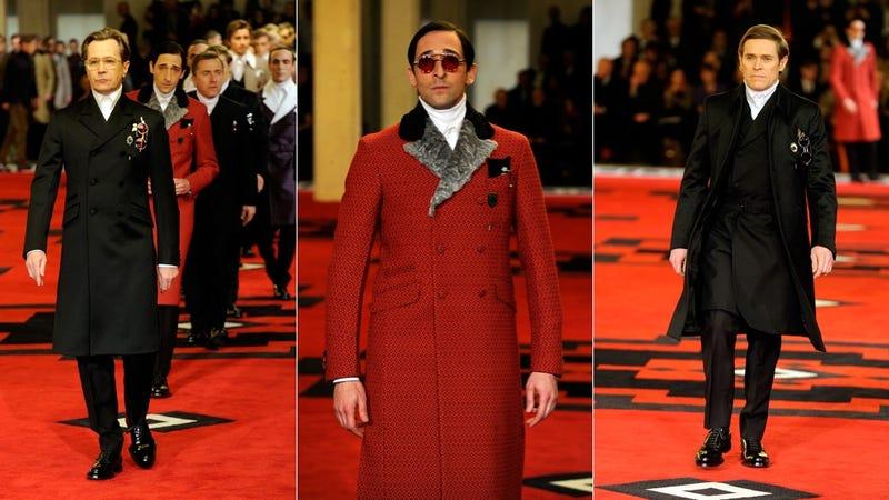 Gary Oldman, Adrien Brody, and Jamie Bell Walk Into a Prada Show...