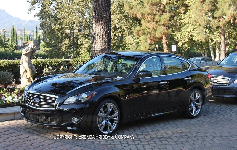2011 Infiniti M56: First Non-Foam Photos
