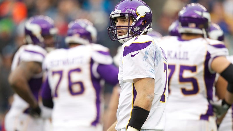 Christian Ponder Says To Lay Off His ESPN Girlfriend, She's Not The Reason He's Struggling