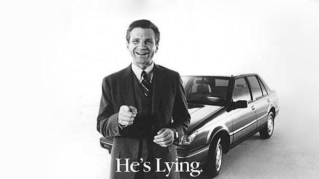 TV's ten greatest automotive pitchmen