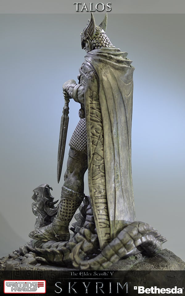 Skyrim Statue Does Not Cure Disease