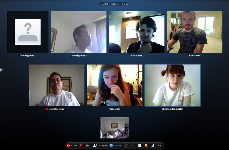 Skype 5.0 Windows Beta Has 10-Way Video Calling!