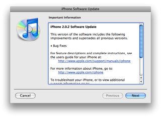 iPhone 2.0.2 Update Is Here, Fixes Bugs In iPhone 3G
