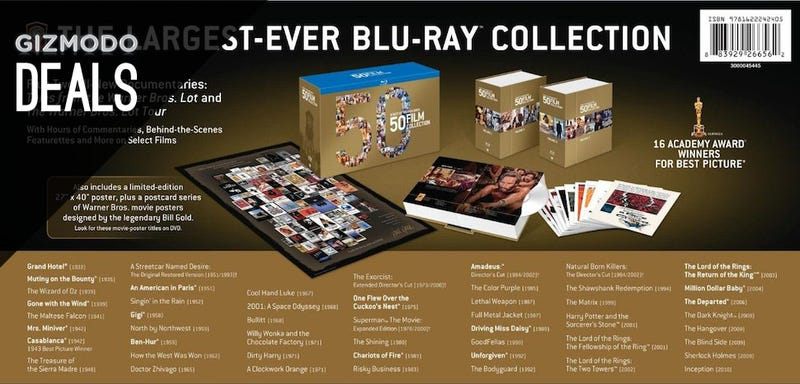 Blu-ray Collection In A Box, JBL Lightning Docks, Kindle Fire [Deals]
