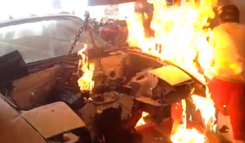 'Idiot Kid' Explains Why He Caught On Fire Working On His Miata
