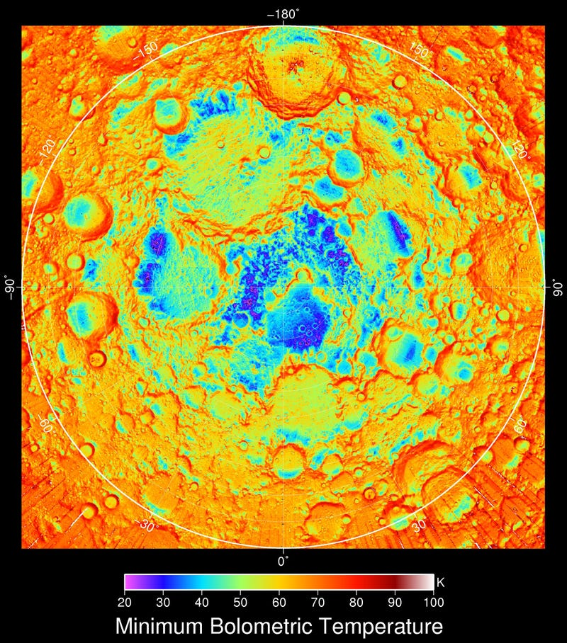 Data from the Lunar Orbiter Creates Abstract Moon Art