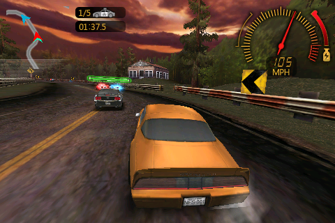 Hands On: Need For Speed Undercover Polishes Up iPhone Racing Games