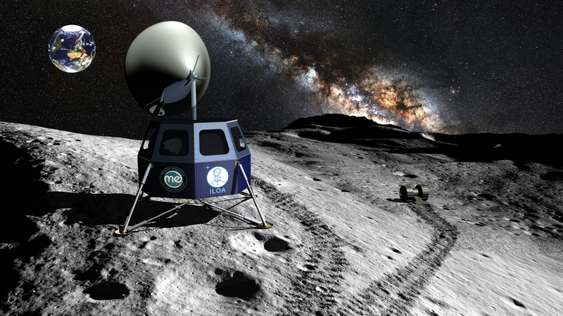 A Private Venture Wants to Build a Telescope on the Moon