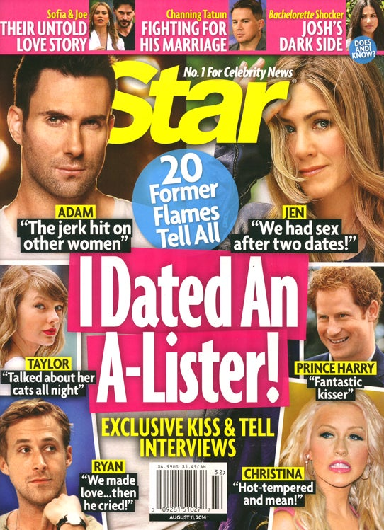 This Week in Tabloids: Normals Who Dated A-Listers Spill Sex Secrets