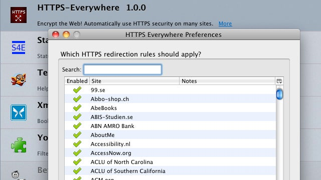 HTTPS Everywhere Now Supports Secure Browsing on Over 1,000 Sites