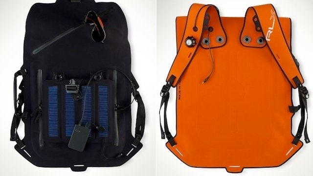 Charge Your Phone In Style With Ralph Lauren's Solar Backpack