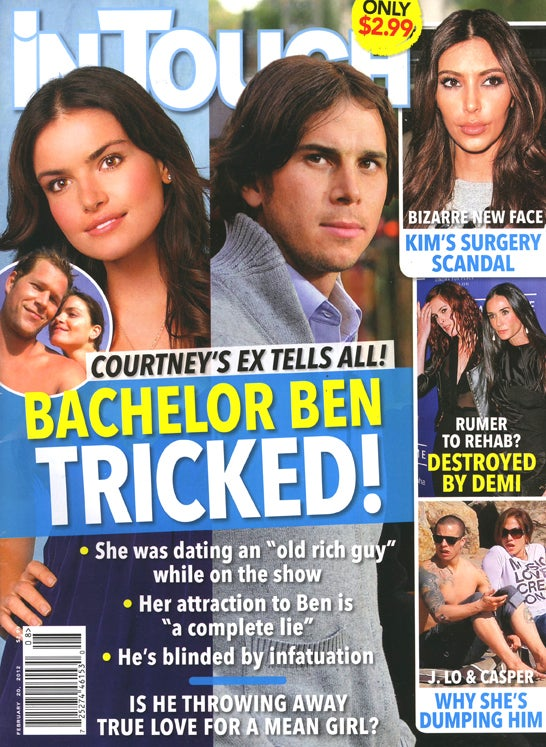 This Week In Tabloids: Courtney the Evil Succubus Maneater Will Devour Bachelor Ben