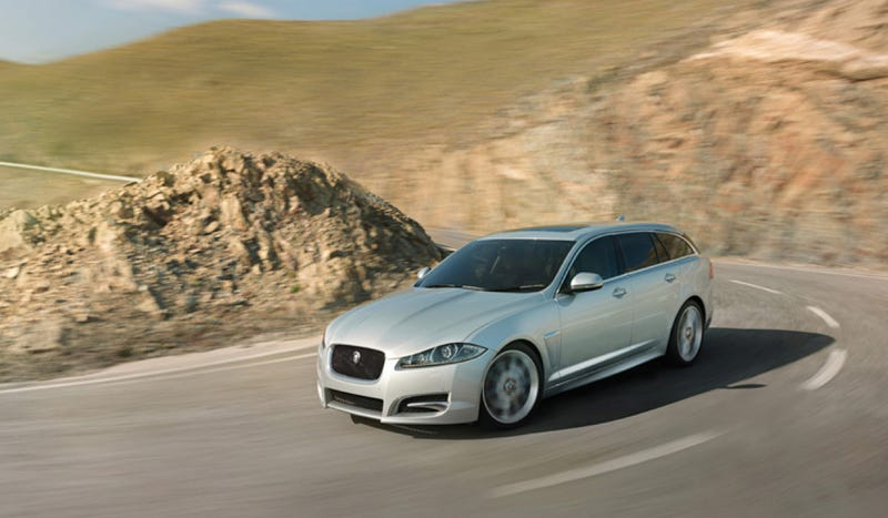 Would You Buy The XF Estate Over The XF Saloon?