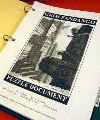 Tim Schafer Publishes Original Grim Fandango Design Doc