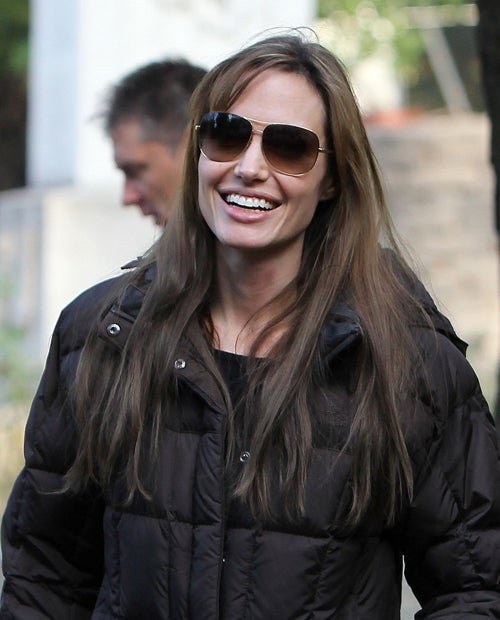 "Angelina Shoots Down ""Nasty"" Rumors About Her Film"