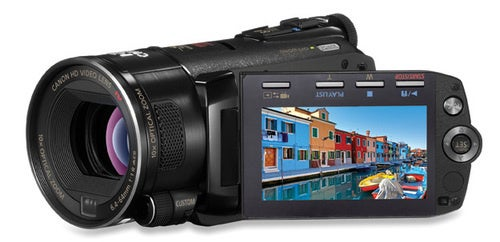 Canon Vixia HF S11 Camcorder Can Film an Entire Day of Your Life
