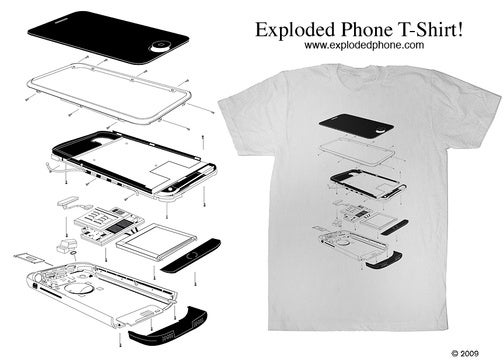 The iPhone and NES Zapper Blow Up All Over These Shirts