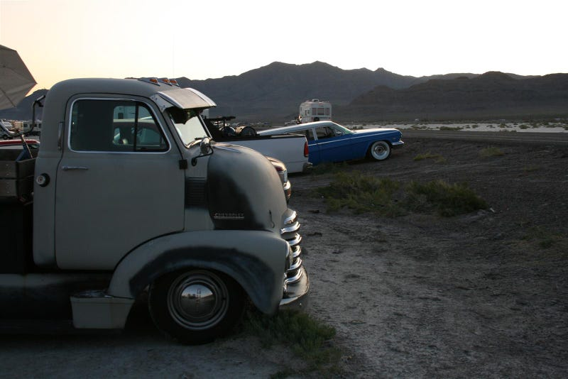 Super Cool Custom Cabover Watches Sunset Over Bonneville