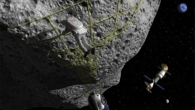 NASA Wants To Lasso An Asteroid So We Can All Hang Out On It
