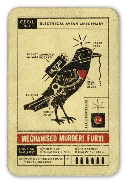 Common House Pet, Or Malevolent Mechanized Murderer?