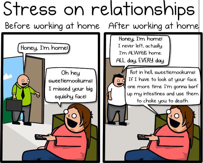 Why Working From Home Is Both Awesome And Horrible