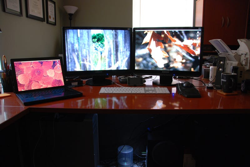 The Dual Workstation Home Office