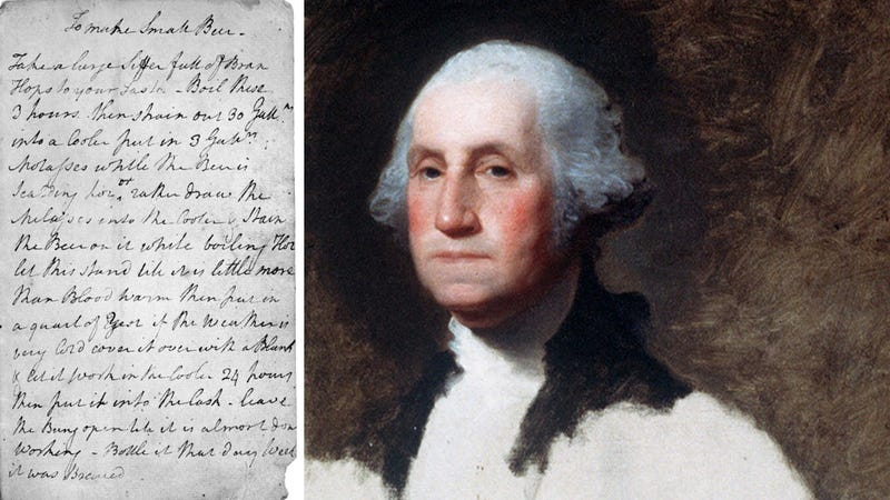 Here Is George Washington's Beer Recipe