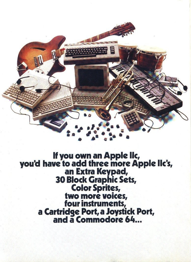 Hilarious and Awesome Computer Ads from the Golden Age of PCs