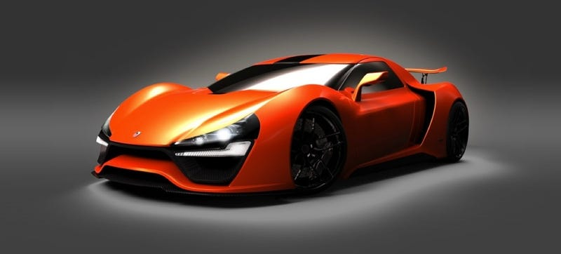 The Trion Nemesis Is A Ridiculous 2,000-HP Supercar For Tall People