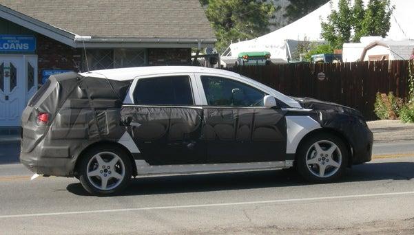 2010 Hyundai Portico Spotted