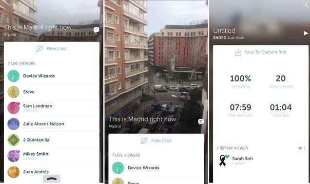 Twitter ya tiene aplicación para compartir vídeo en directo: Periscope