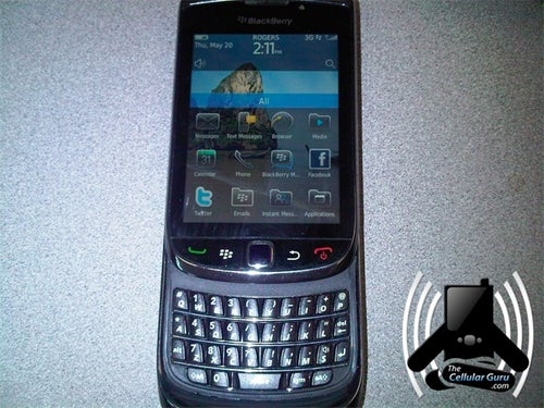 BlackBerry Bold 9800 Leaked Pics Show WebKit Browser