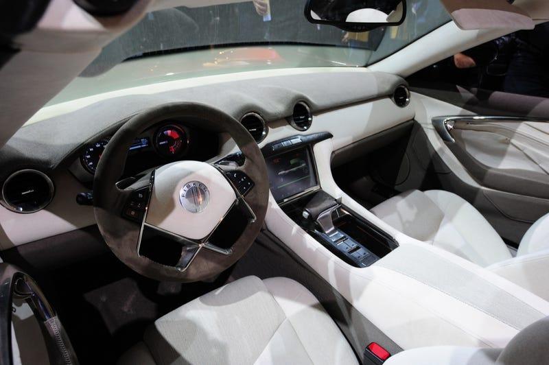 Fisker Karma S Sunset: World's First Hybrid Convertible