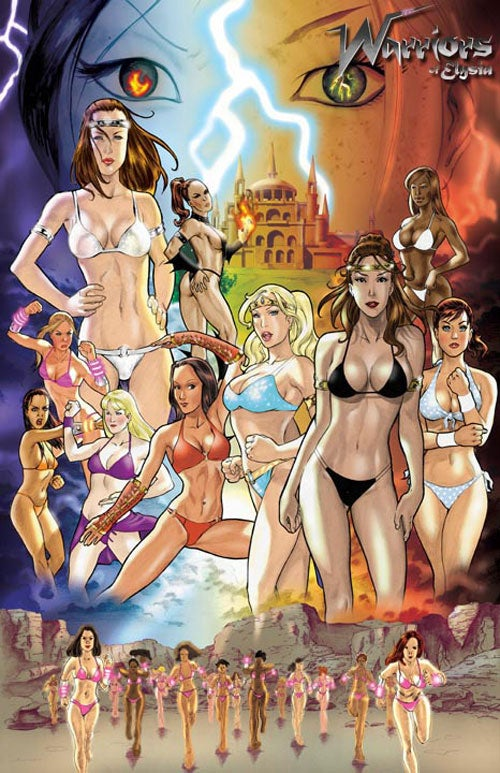 It's Like Mortal Kombat, Only With Bikinis